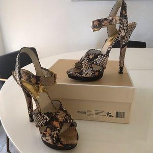Michael Kors Odessa Platform Heels - Size 9